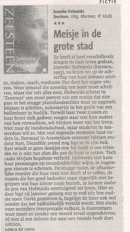 Recensie Zeesteen NH Dagblad 31-3-2010 001